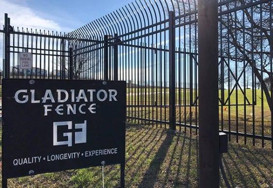 Iron Security Gate